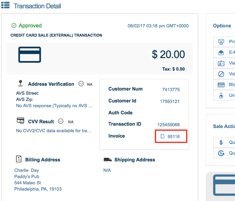Invoices USAePay Help - What is invoice number